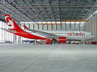 Flughafen Düsseldorf, AirBerlin Wartungshalle