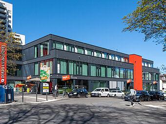 Lebensmittelmarkt, Mailänder Straße, Frankfurt am Main