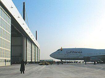 Flughafen München, Lufthansa Wartungshangar