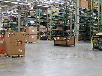 Daimler AG Logistikzentrum, Fürth