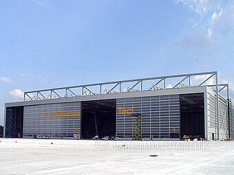 Flughafen Frankfurt, Lufthansa A380 Wartungshalle