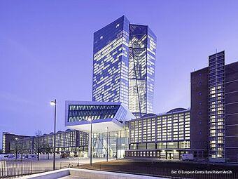 Europäische Zentralbank, Frankfurt