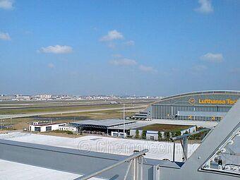Flughafen Frankfurt, Lufthansa Technik MD11 Halle