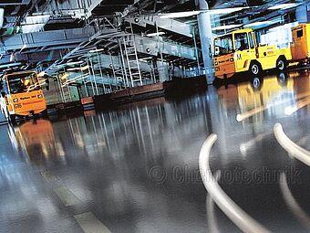 Flughafen München, Gepäckförderanlage, Terminal 1