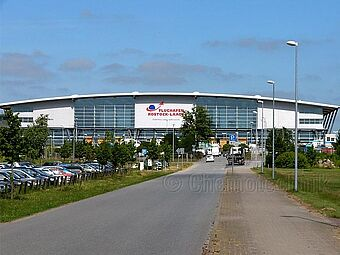 Flughafen Rostock, Terminal & Gepäckabfertigung