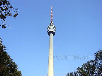 Fernsehturm Stuttgart, Aussichtsplattform