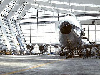 Flughafen Frankfurt, Lufthansa Wartungshalle 5
